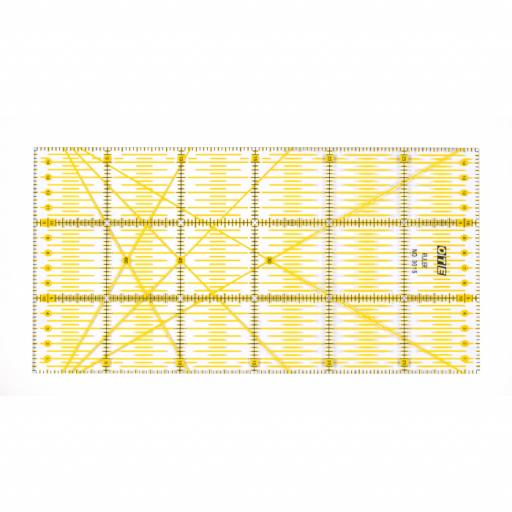 REGLA OLFA OTE Amarilla 15 x 30 cm