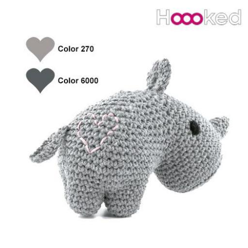 KIT AMIGURUMI RHINO DEX