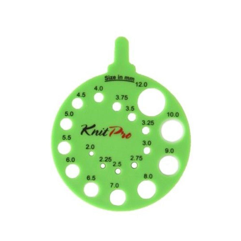 Calibrador de agujas KNITPRO