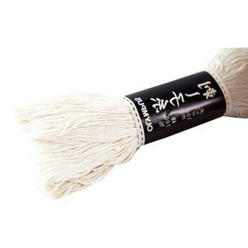Hilo especial bordado sashiko blanco