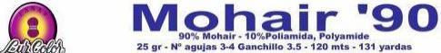 Mohair 90 Luz Color