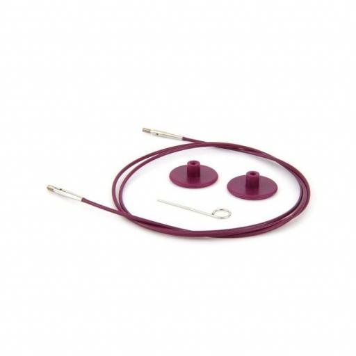 Cable para agujas circulares 126-150 cm