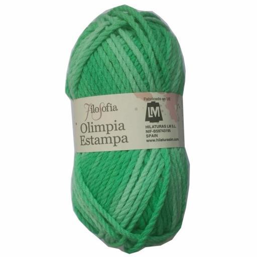 OLIMPIA STAMPA 1110 verdes