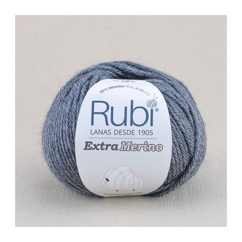 RUBI EXTRA MERINO 912 gris oscuro