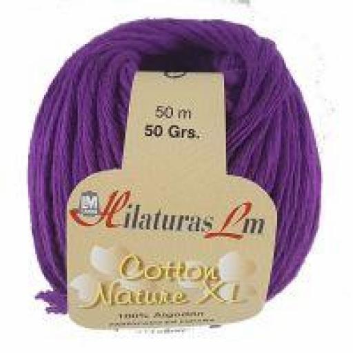 COTTON NATURE XL COLOR 4197