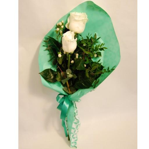 Ramo de 2 rosas extra