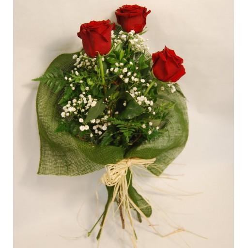 Ramo de 3 rosas