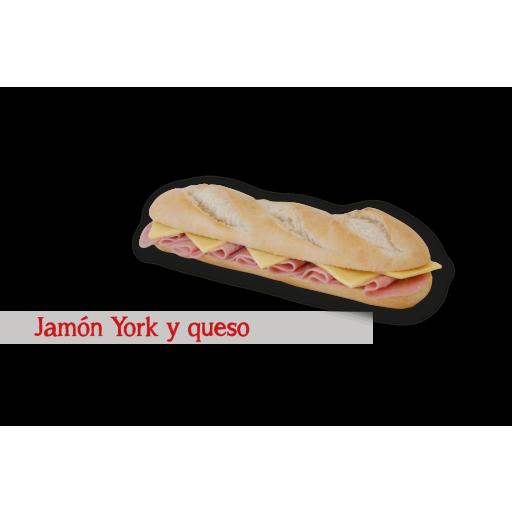 Jamón York y Queso