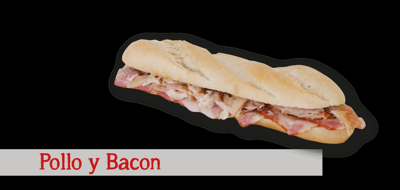 Pollo y Bacon