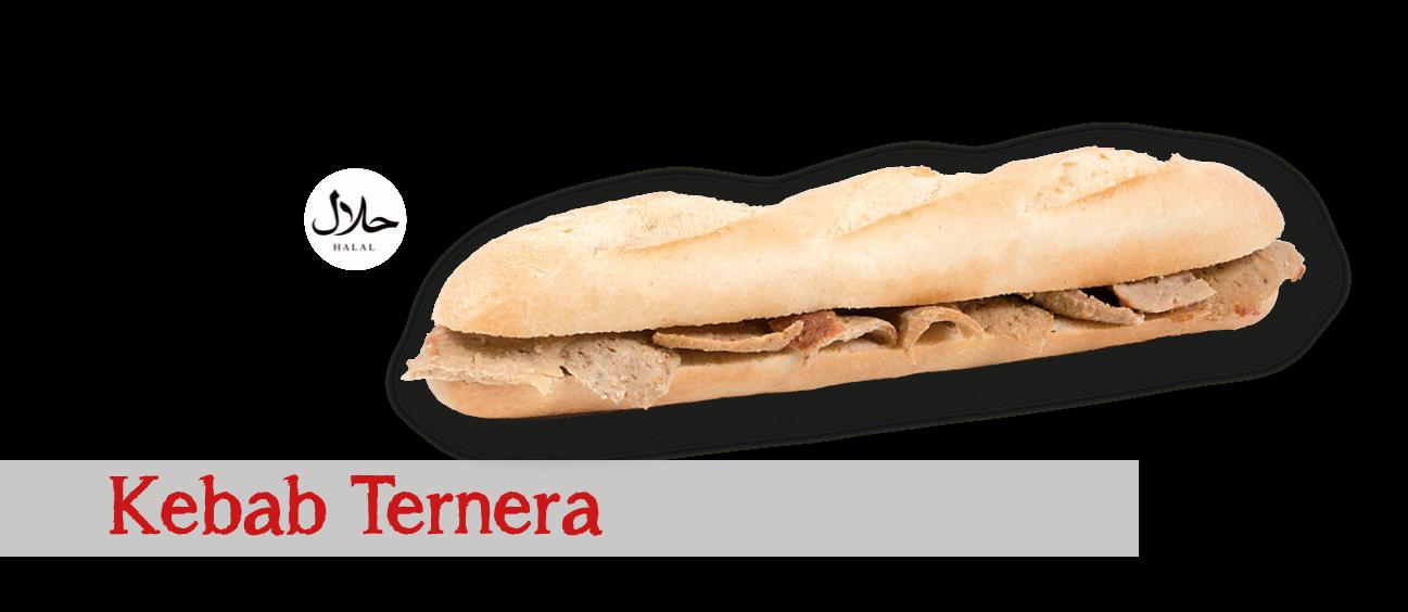 Kebab de Ternera Halal