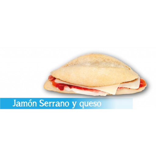 Montadito Jamón Serrano y Queso