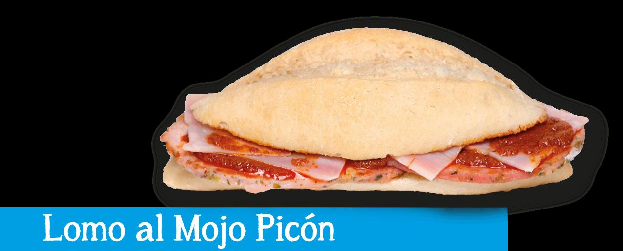 Montadito Lomo Mojo Picón