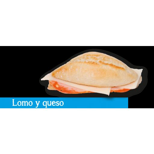 Montadito Lomo y Queso