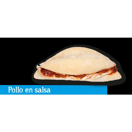 Montadito Pollo en Salsa