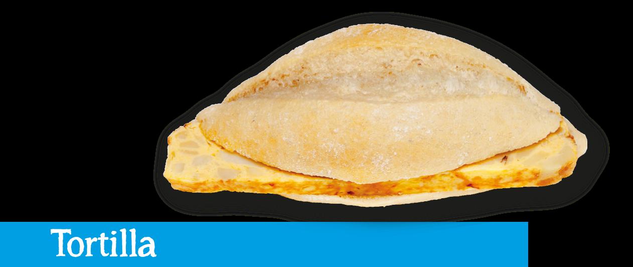 Montadito Tortilla de patatas