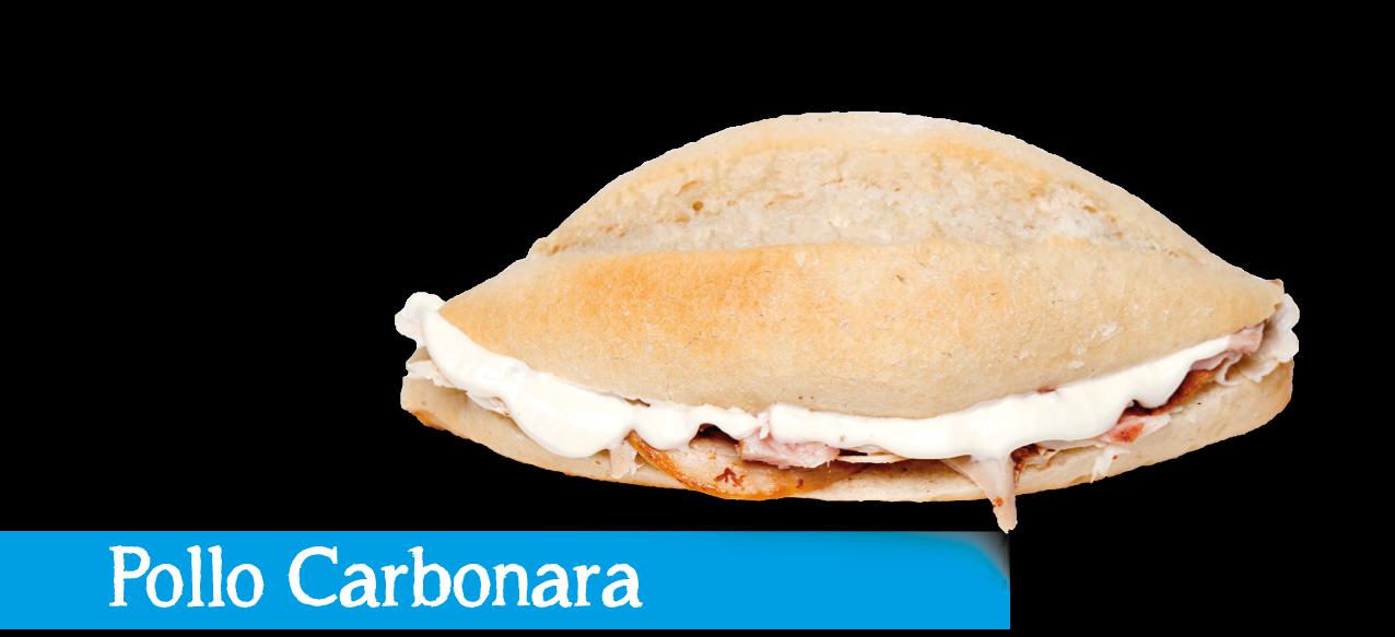 Montadito Pollo Carbonara