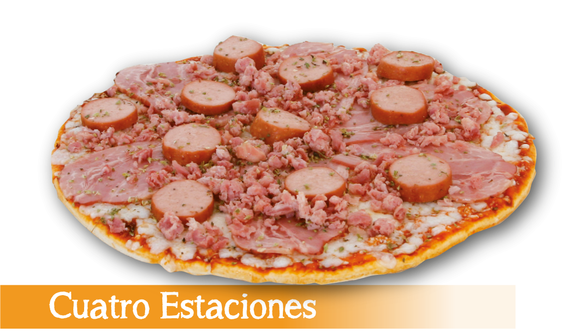 Pizza congelada 4 Estaciones