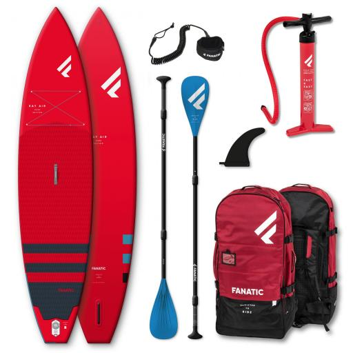 PACK FANATIC RAY AIR  ROJO
