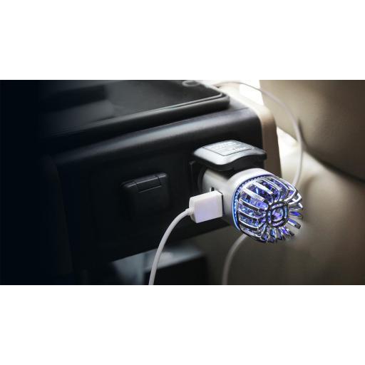 Purificador - Ionizador Coche con cargador USB- ICA001 [2]