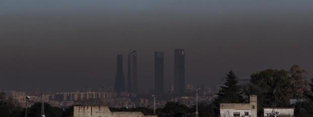 Madrid rebasa en solo 36 días el límite de contaminación para todo el año