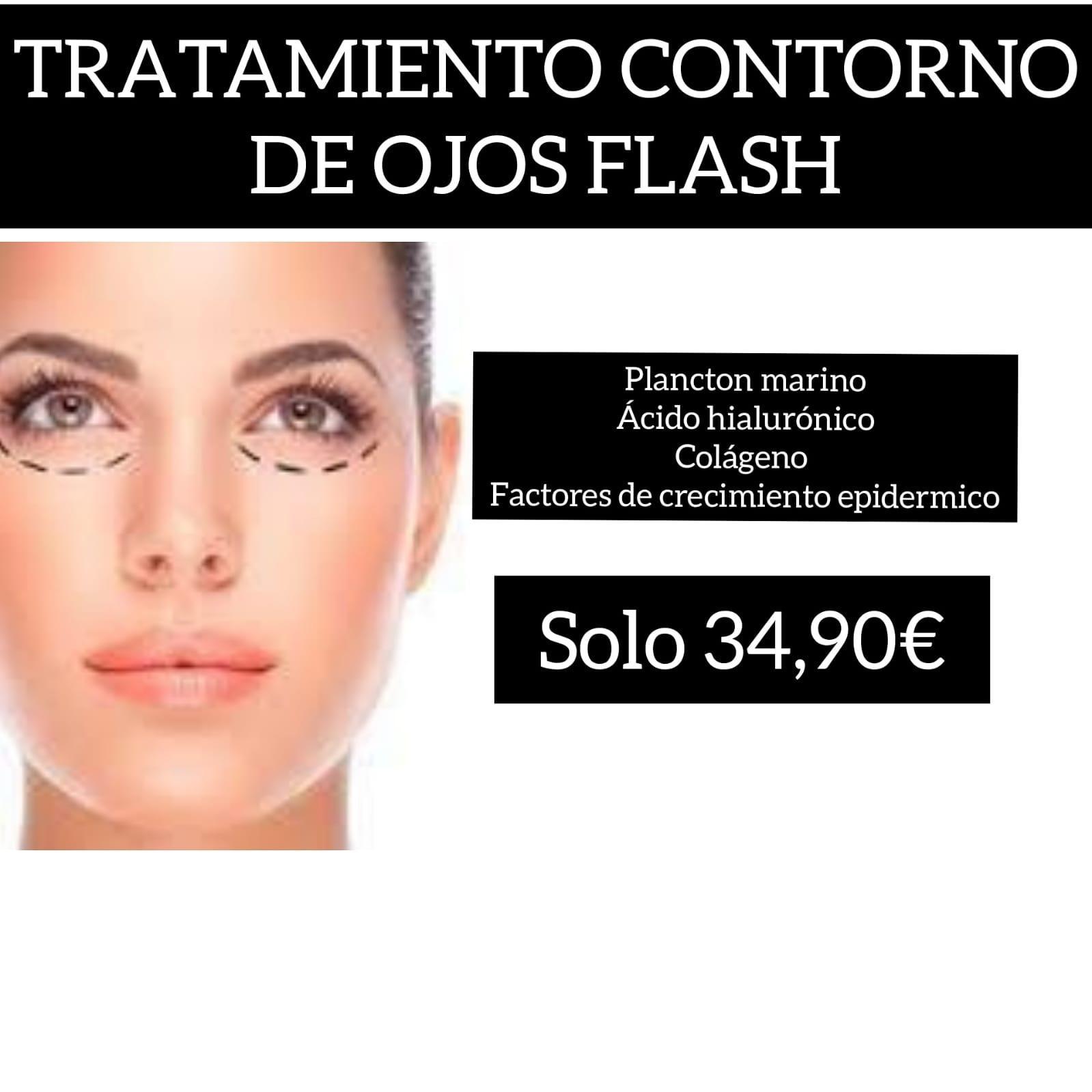 TRATAMIENTO CONTORNO DE OJOS FLASH CON MICROAGUJAS