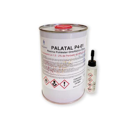 Resina de poliéster de colada sin acelerar con peróxido incluido
