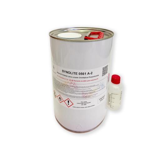Resina de Poliéster de Colada con peróxido incluido [1]