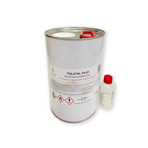 Resina de poliéster de colada sin acelerar con peróxido incluido [1]
