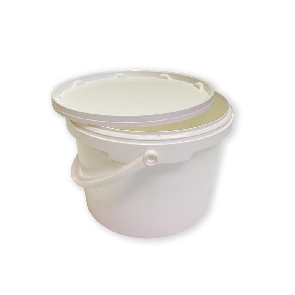 Cubo de Polipropileno Blanco 5 litros