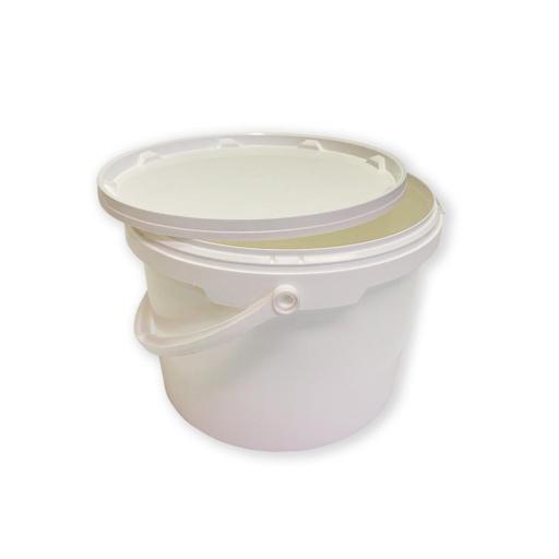 Cubo de Polipropileno Blanco 5 litros [0]