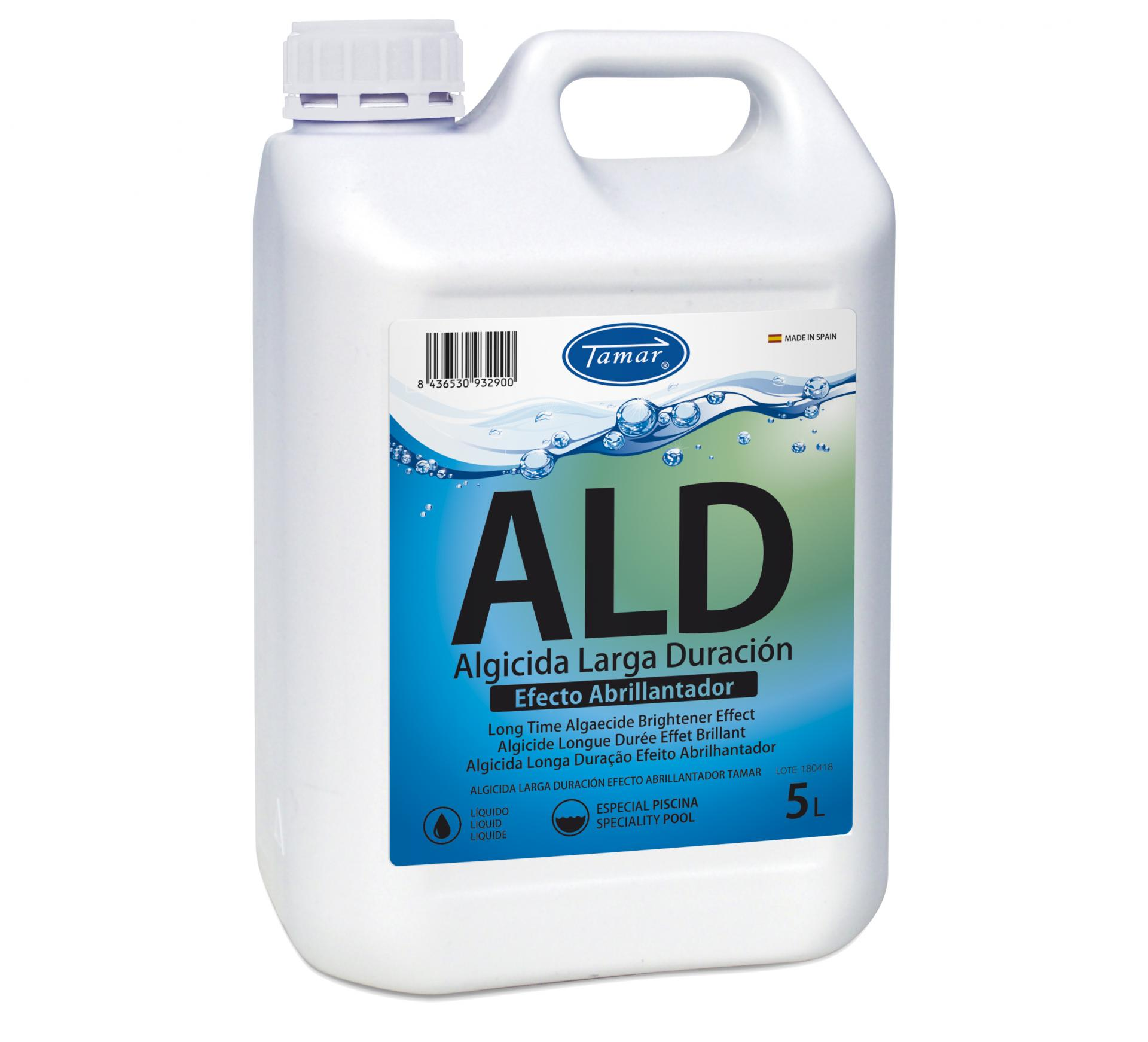 Antialgas piscina Líquido ALD (Algicida)