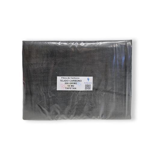 Fibra de Carbono Tafetán 3K de 200 gramos [2]