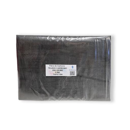 Fibra de Carbono Tafetán 3K de 200 gramos [1]