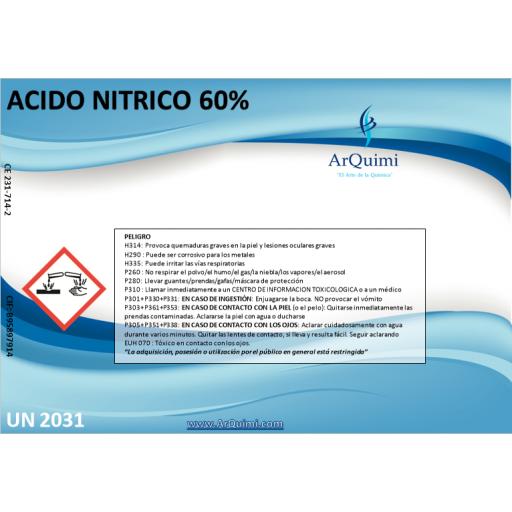 Ácido Nítrico 60% [1]