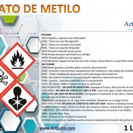 Acetato de Metilo [1]