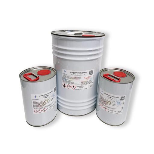 Resina Epoxi Cristal Transparente Elan-Tech EC 141 NF KIT [1]