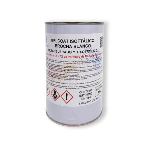 Gelcoat Isoftálico Brocha Blanco [1]