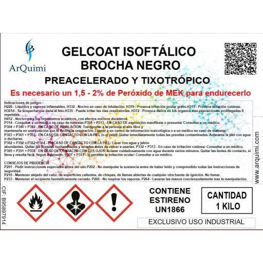 Gelcoat Isoftálico Brocha Negro [2]