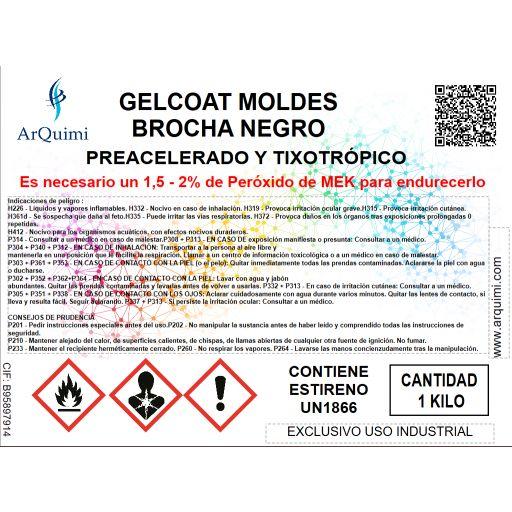 Gelcoat Moldes Brocha Negro VE Tooling H 520 [2]