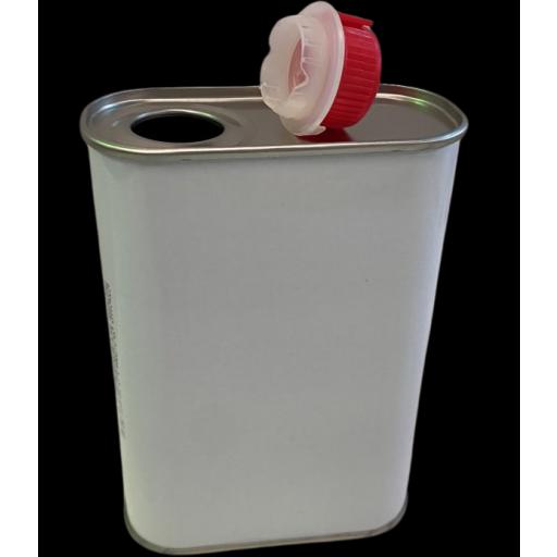 Lata Metálica cuadrada 0,5 litros