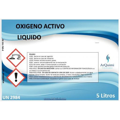 Oxígeno Activo Líquido piscinas [0]
