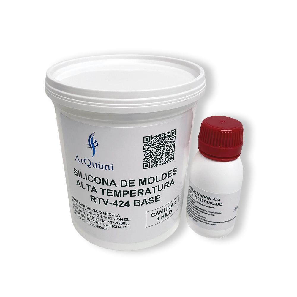 Silicona de Moldes Alta Temperatura RTV 424