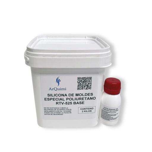Silicona para Moldes Especial Poliuretano RTV CD 525 [1]