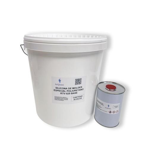 Silicona para Moldes Especial Poliuretano RTV CD 525 [3]
