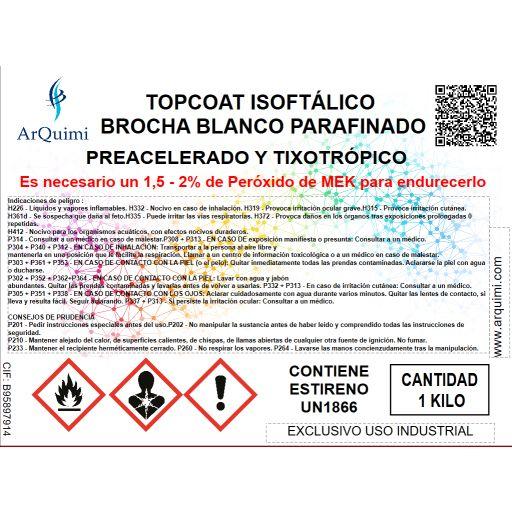 Topcoat Isoftálico Brocha Blanco [2]