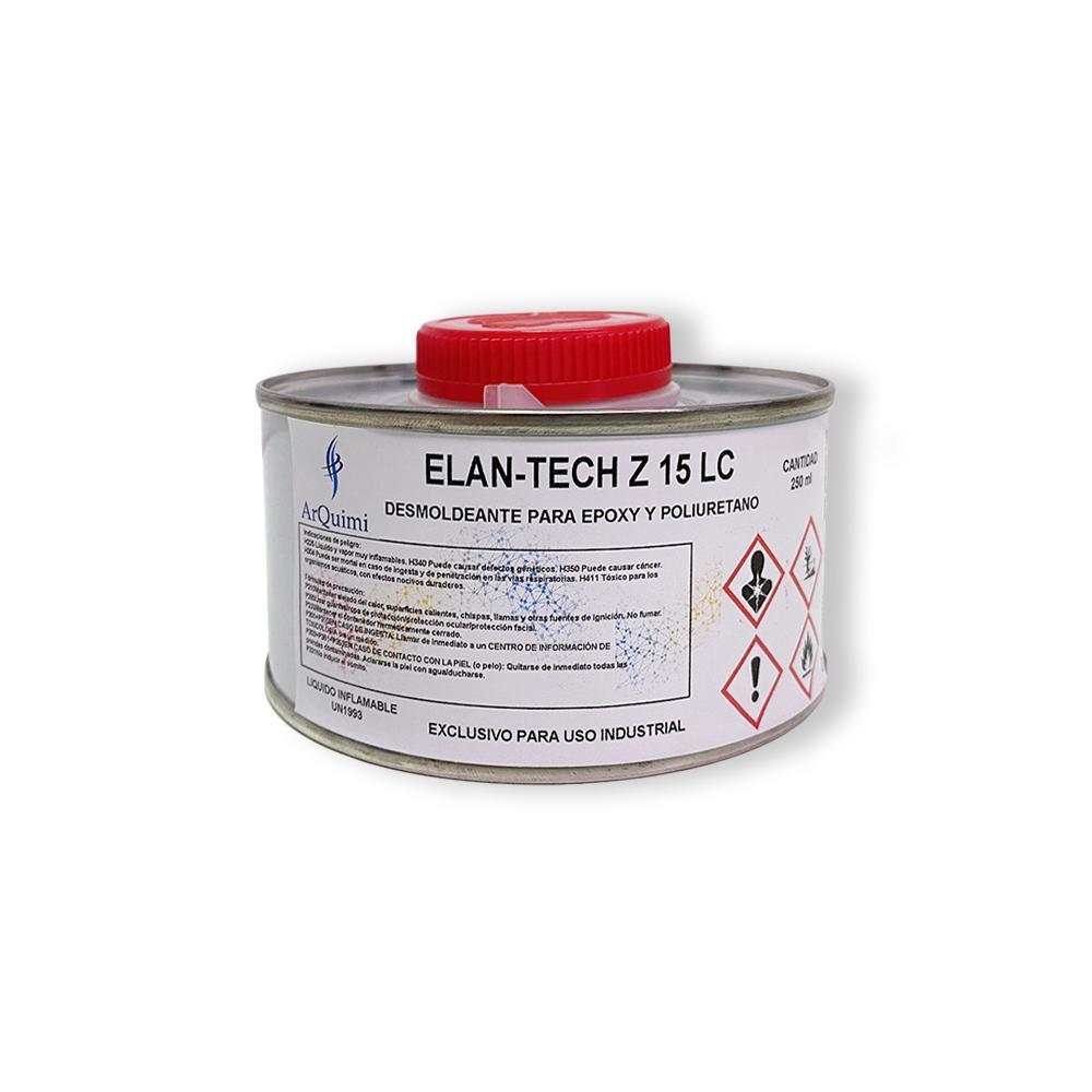 Desmoldeante Epoxi y Poliuretano Elantas Z15 LC