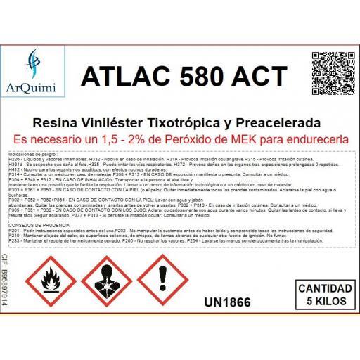 Resina Viniléster de laminación Atlac 580 ACT [2]