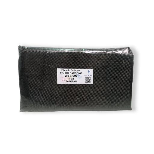 Fibra de Carbono Tafetán 3K de 200 gramos