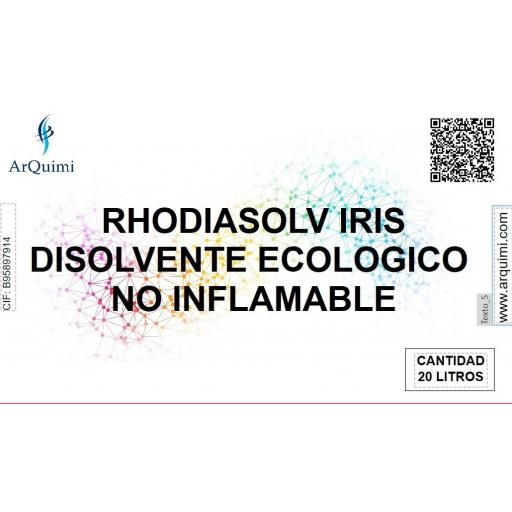 Disolvente Ecológico No Inflamable Rhodiasolv Iris [2]