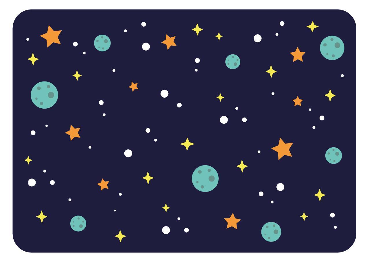 SALMANTEL SPACE PARTY IMPRESO